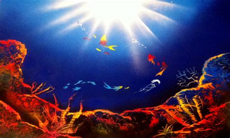 spray paint coral reefs spray paint underwater by clanaad on deviantart