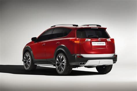 toyota toyota toyota gets tough luxurious with new rav4 concepts