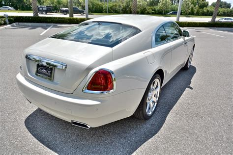 rolls royce wraith in carrara white for sale