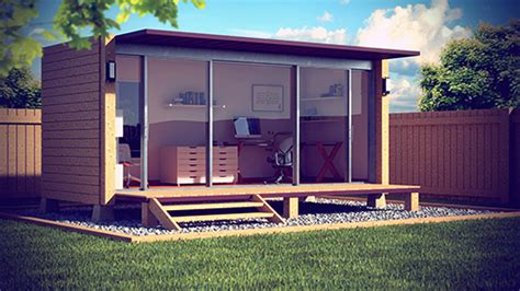 backyard office plans roy ho shipping container home office uk