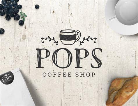 Coffee Shop Graphic Design | coffee shop logo logo design premade logo personalized