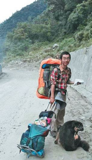 Hu Jian Is On His Way Trekking To Tibet In 2014 With A