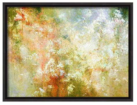 framed abstract enchanted blossoms modern canvas print framed