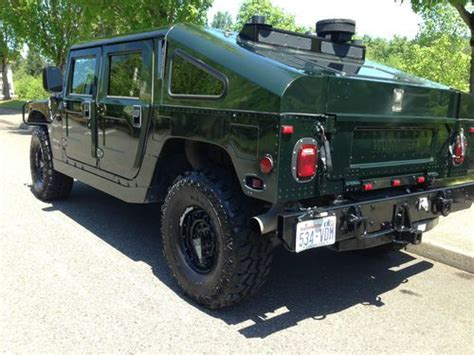 purchase used hummer h1 hmc4 with slant back duramax