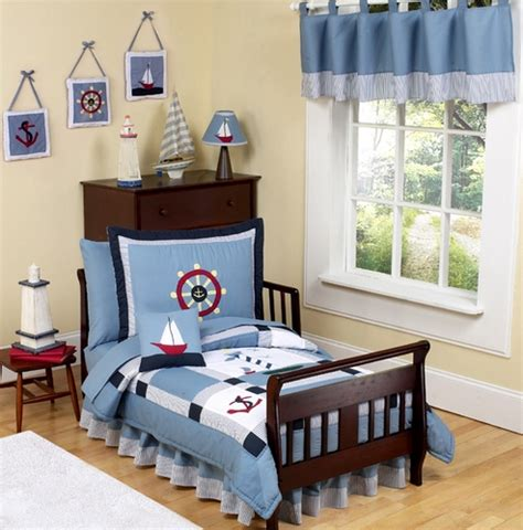 Come Sail Away Nautical Toddler Bedding 5 Pc Set Only 99 99 What Comes In A Bed Set