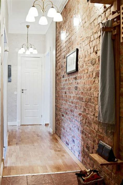 white brick accent wall interior design ideas brick wallpaper as of chic rustic accent in modern