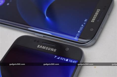 ndtv mobile compare samsung galaxy s7 and galaxy s7 edge review ndtv