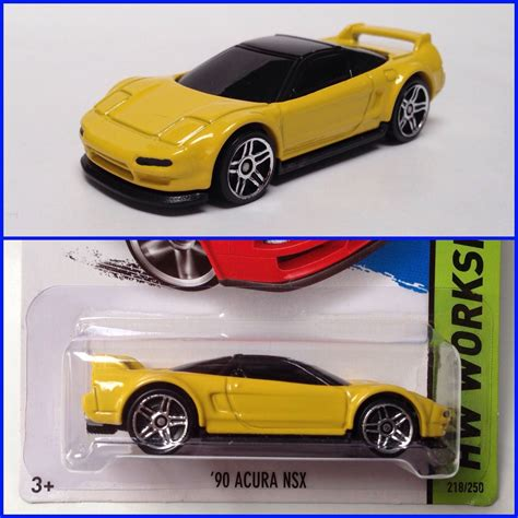Hotwheels Paket 90 Acura Nsx new quot 90 quot wheels nsx honda tech