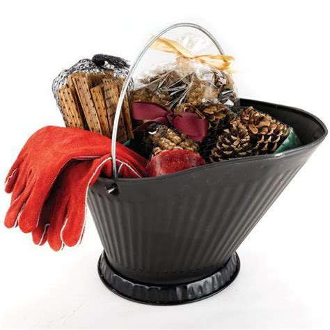 fireplace gift baskets great housewarming gifts gloves and fireplaces on