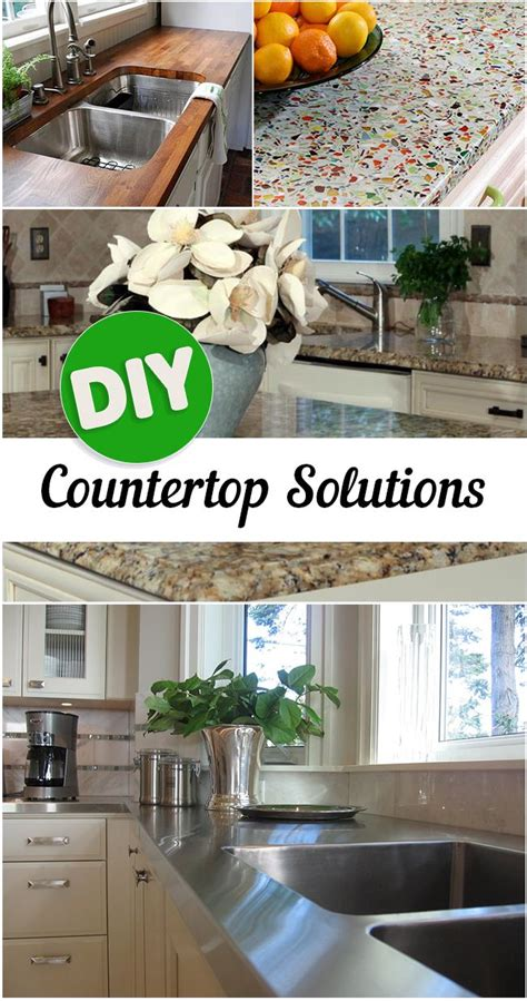 diy kitchen countertop ideas countertop kitchens and