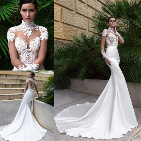 High Designer Wedding Dresses by Popular Sleeve Fitted Wedding Dresses Buy Cheap