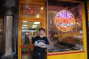 tattoo parlor east village manhattan s oldest tattoo shop celebrates 40th anniversary