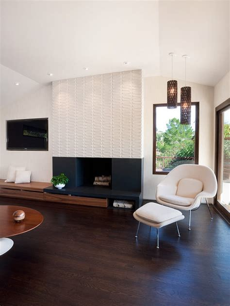 modern tile fireplace home design ideas pictures remodel