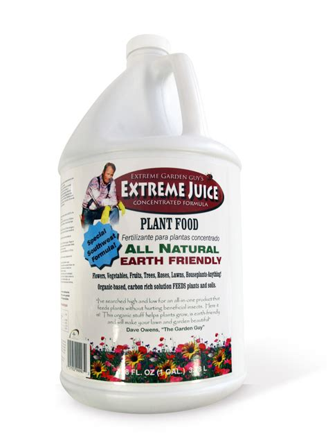 all natural flower food extreme juice 1 gal all natural plant food