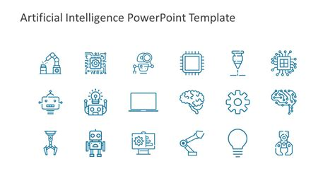 Powerpoint Template Artificial Intelligence Gallery Artificial Intelligence Ppt Template Free