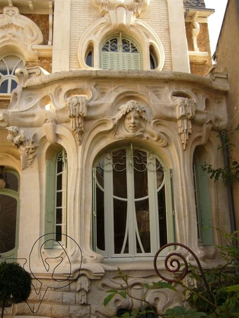 art nouveau maison barillet orleans facades
