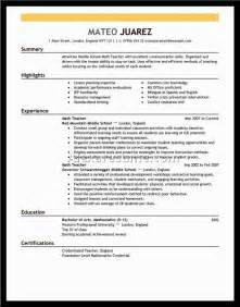 professional resume sles free professional resume layout exles 28 images