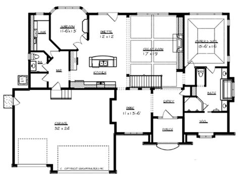 main level floor plans windsor 7049 1 bedroom and 1 bath the house designers