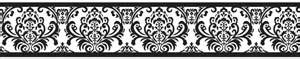 Wall border classic damask wallpaper borders great for any room