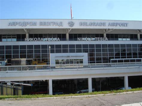 Nikola Tesla Airport Above The Belgrade International Airport Is As Of