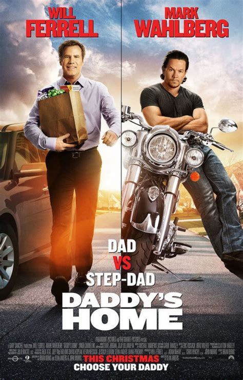 will ferrell vs wahlberg in daddy s home posters