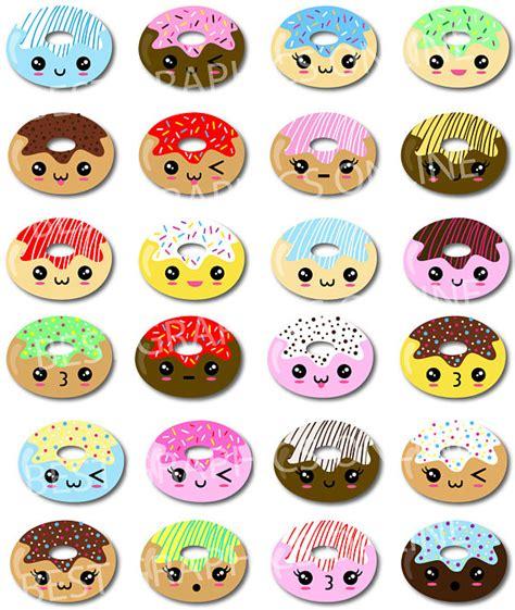imagenes de rosquillas kawaii 80 off sale commercial use kawaii clip art donuts clipart