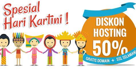 indonesia spesial hari promo hosting 50 spesial hari kartini 2016 yuk belajar