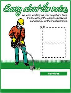 lawn care advertising templates 25 best ideas about lawn mowing business on
