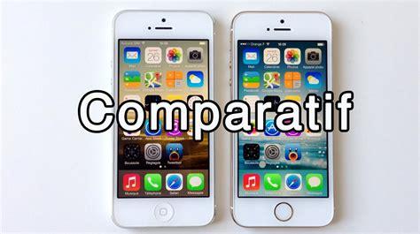 Iphone 5 5s 5 33 comparatif apple iphone 5s vs iphone 5 photo