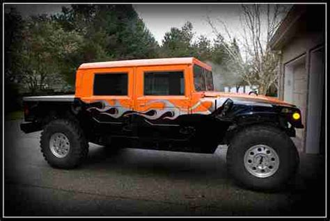 sell new 98 am general humvee hummer top custom