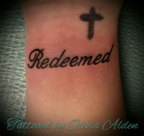 redeemed tattoo best 25 redeemed ideas on christian