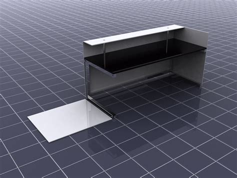 Flat Pack Reception Desk Industrial And Furniture By Wilson At Coroflot