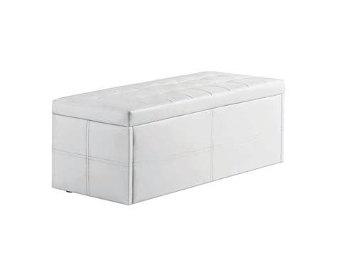 white faux leather ottoman durban white faux leather ottoman uk delivery