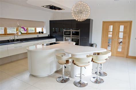 beautiful curved kitchen island ideas to be inspired by