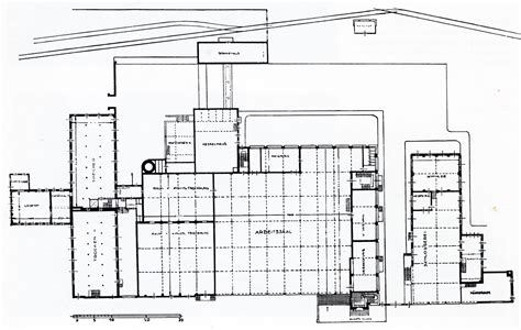 Ground Floor Plans by Gallery Of Ad Classics Fagus Factory Walter Gropius
