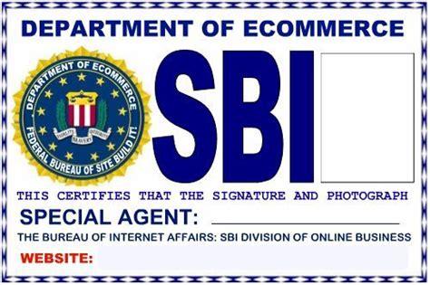 fbi id card template fbi badge template