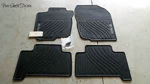 2007 Toyota Floor Mats All Weather New Oem Toyota Rav4 2007 2012 All Weather Floor Mats 4