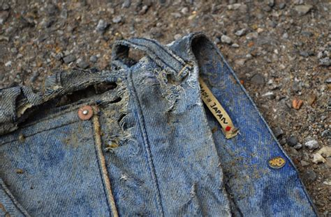 michael chell denim experiment 3 months river wash by michael chell
