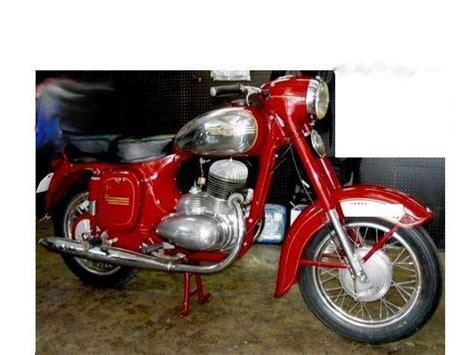 Alte Jawa Motorräder by Privates Hochzeitsreise 1956 Bieszczady 1958