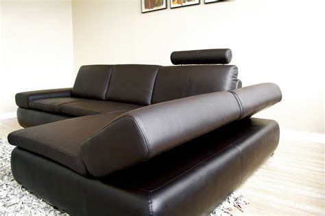 brown leather sectional with recliners keystone brown