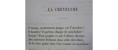 baudelaire i fiori poesie baudelaire po 233 sie la chevelure edition originale