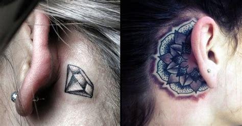 circle tattoo behind ear 25 awesome behind the ear tattoos part 3 tattoodo