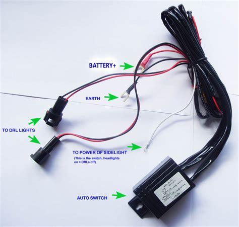 Drl Controller Modul Otomatis Daytime Running Light Relay Harness daytime running lights drl auto switch relay