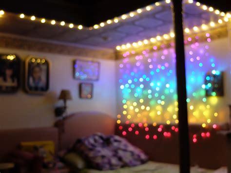 bedroom goals achieved i decorated my room using rainbow