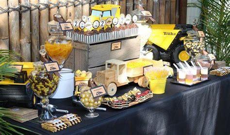 Truck Birthday Decorations by Construction Trucks Kara S Ideas