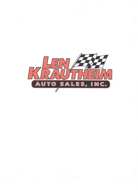 len sale len krautheim auto sales middleburg pa read consumer