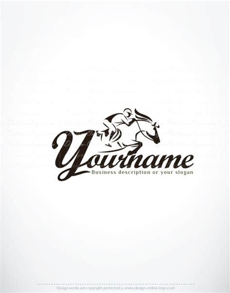 design logo horse exclusive design horse riding logo compatible free
