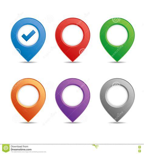 color pin color pin set royalty free stock image image 33389176