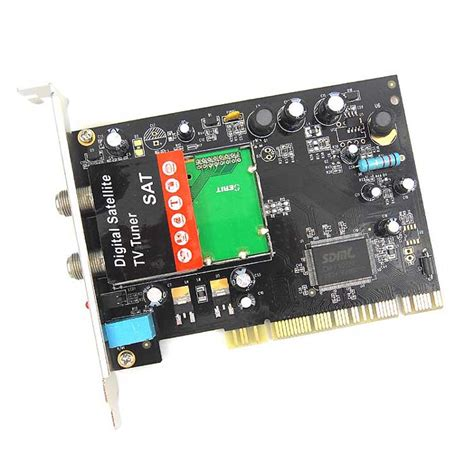 Digital Satellite Tv Tuner image digital satellite tv tuner sat lnb and switch pci card used on pc from china