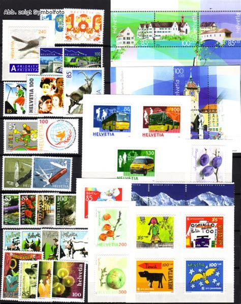 Briefmarken Schweiz Brief briefmarken schweiz jahrgang 2006 komplett michel nr 1951